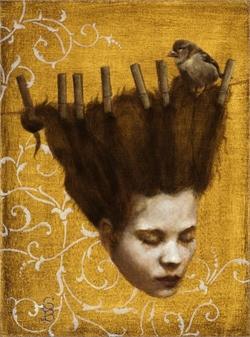 Clothesline Girl by Deirdre Sullivan-Beeman